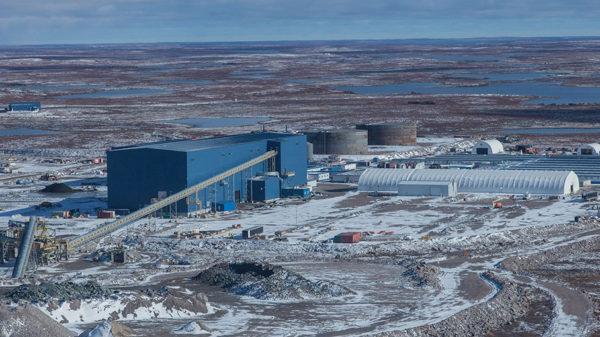 De Beers Gahcho Kue Mine, Bedrock Service project